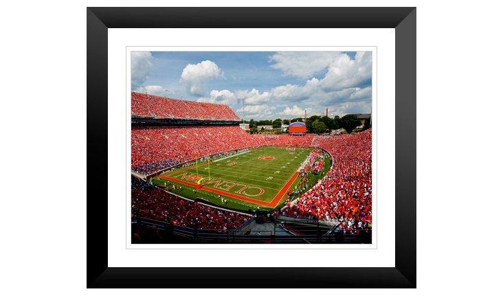 Clemson: Memorial Stadium End Zone