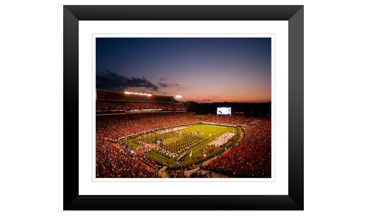 Georgia: Sunset Over Sanford Stadium