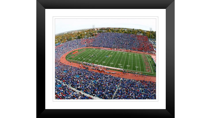 Kansas: Memorial Stadium on Game Day