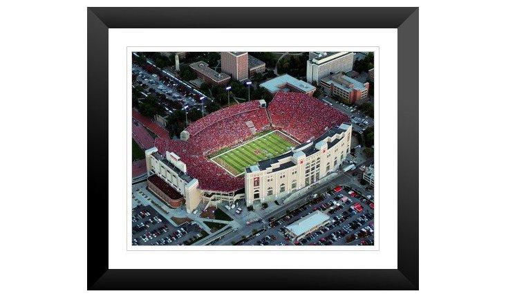 Nebraska: View of Memorial Stadium