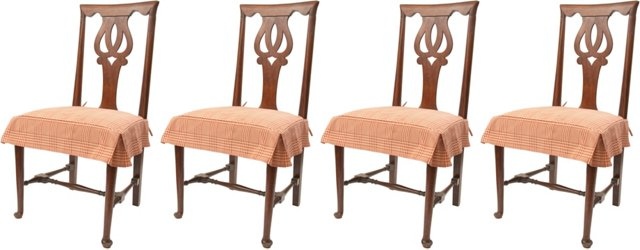 George II Side Chairs, C. 1750, Set of 4