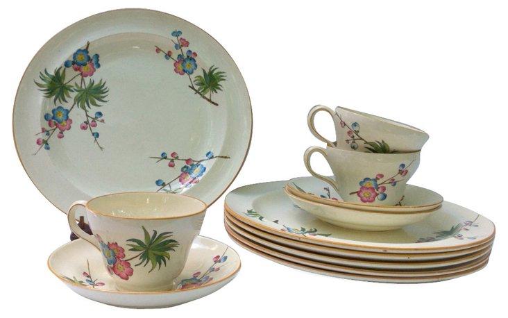 19th-C. Wedgwood Dishes, 12 Pcs.