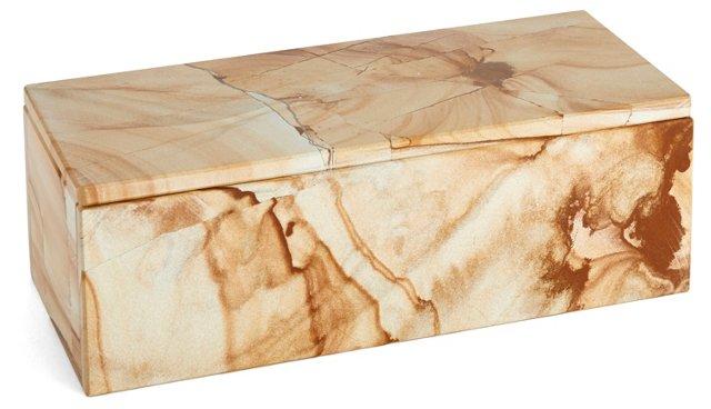 """7"""" Marlstone Box, Natural"""