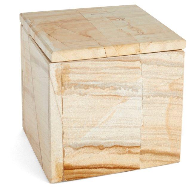 """4"""" Marlstone Box, Natural"""