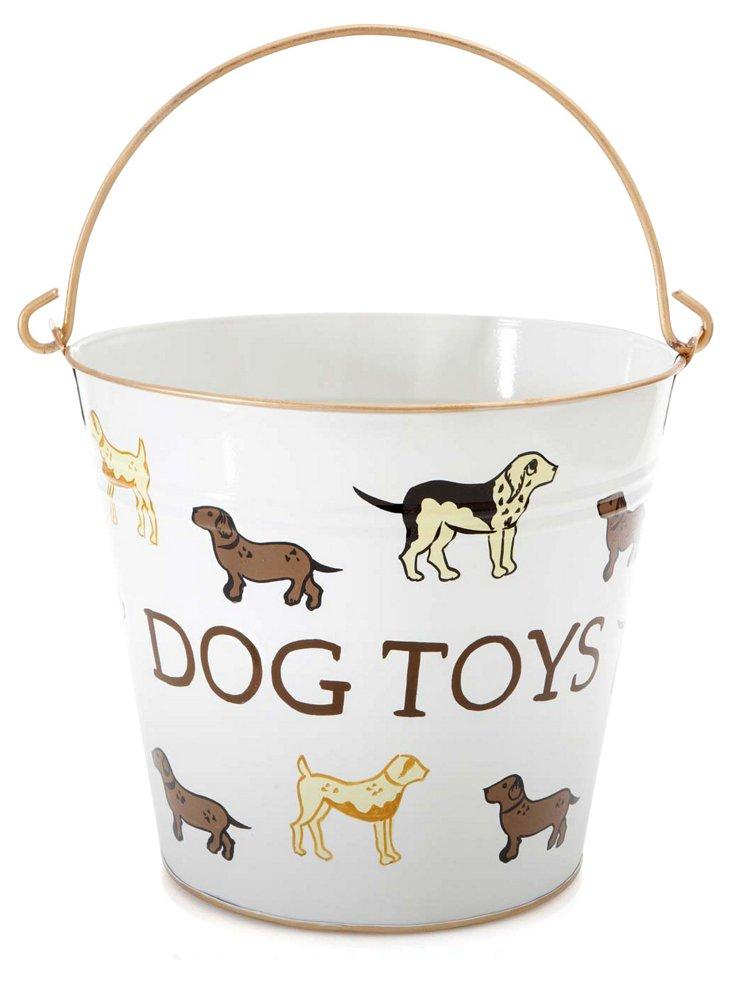 Dog Toys Pail