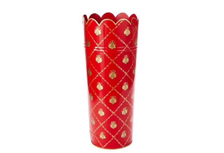 Umbrella Stand, French Bee Red