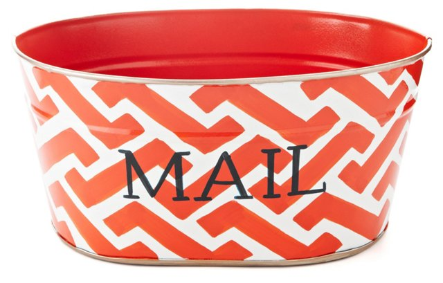 """12"""" Mail Tub, Coral Molly"""