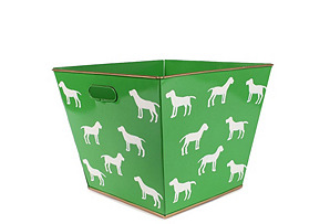 Westminster Dog Toy Bin, Green