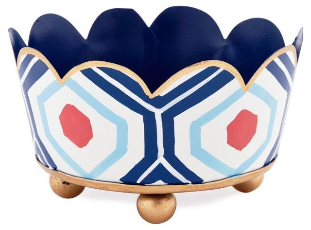 "5"" Coaster, Hudson Blue"