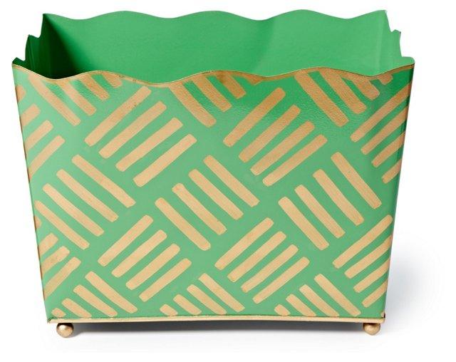 Magazine Bin, Sweetgrass Green