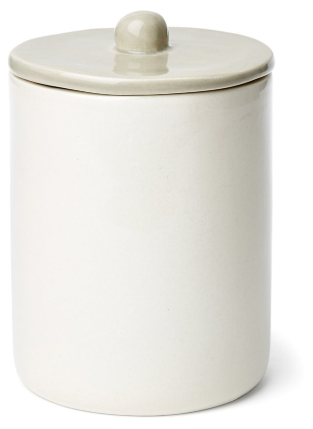 Small Canister, Gray