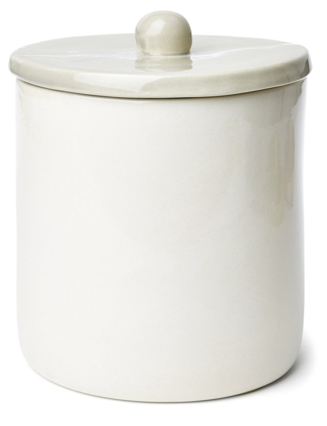 Large Canister, Gray