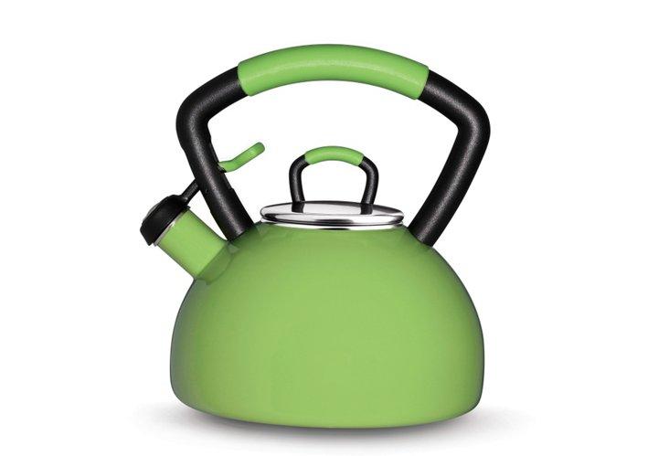 2.25Qt Soft Grip Tea Kettle, Green Apple