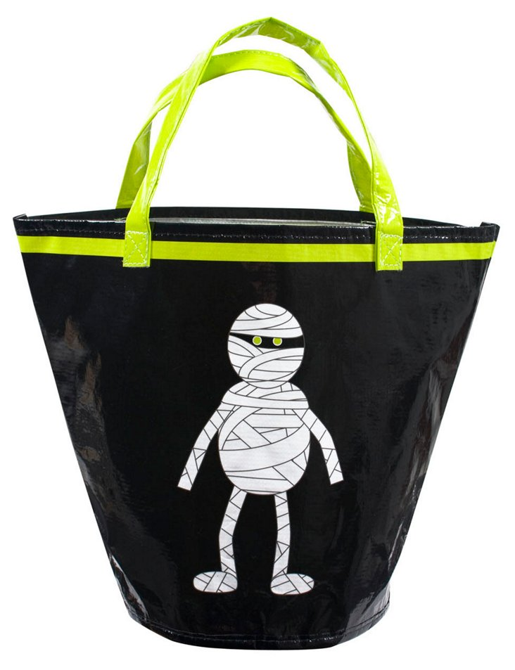 S/4 Trick or Treat Bags, Mummy