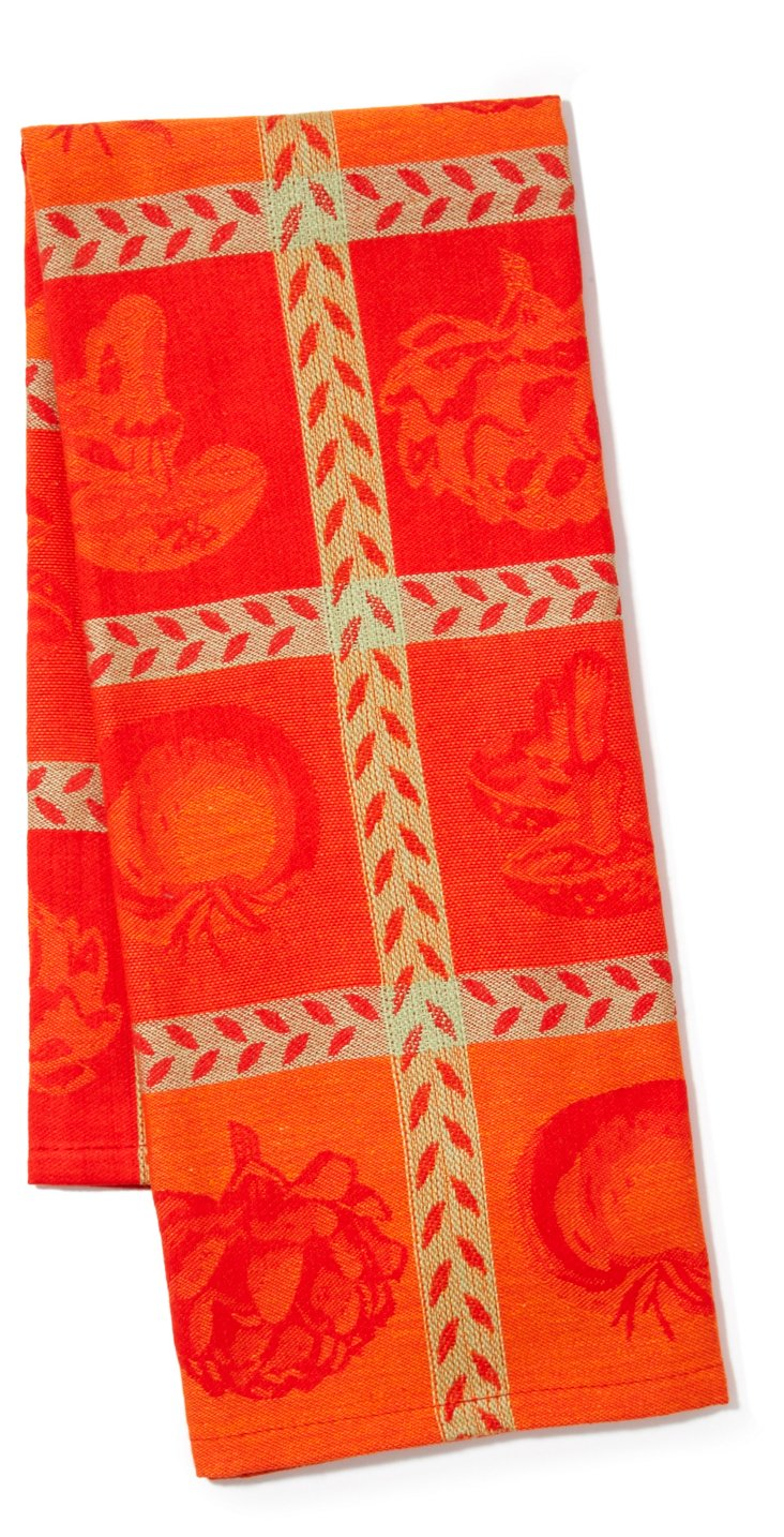 S/2 Kitchen Towels, Pomodoro