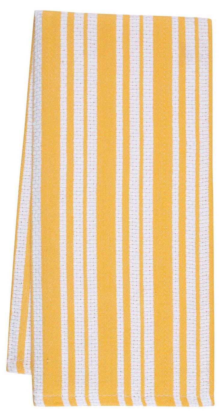 S/4 Casserole Towels, Yolk