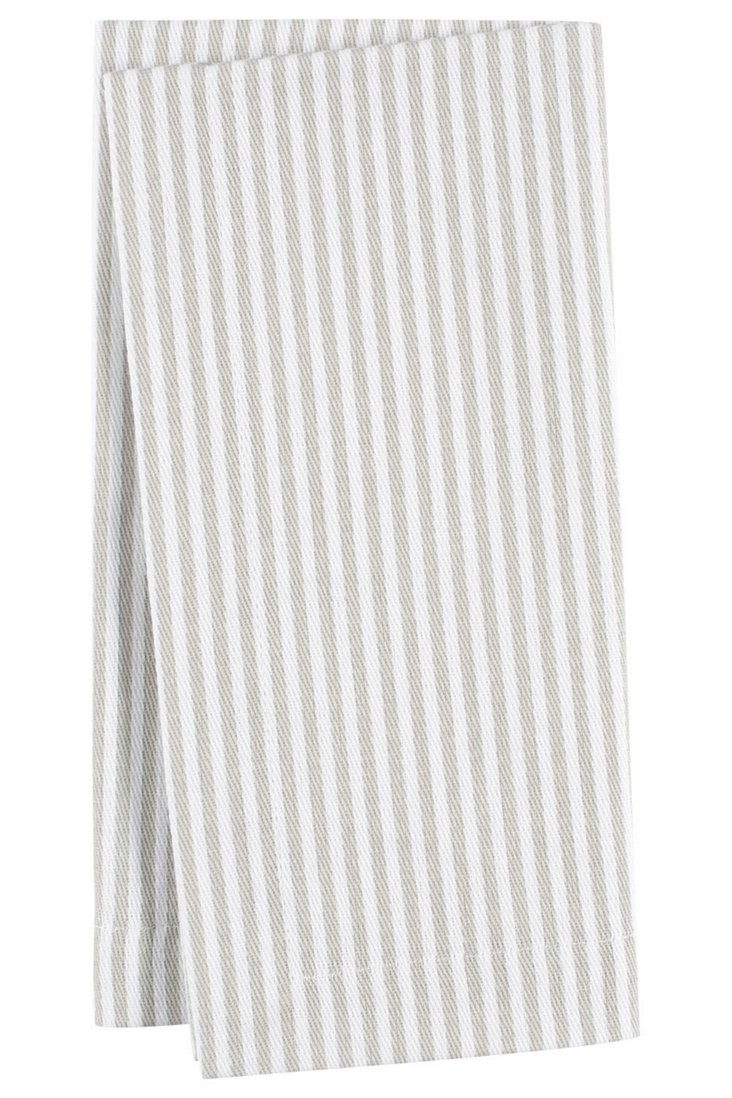 S/4 Whim Dinner Napkins, Gray