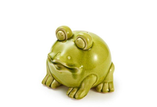 Ceramic Frog Bank