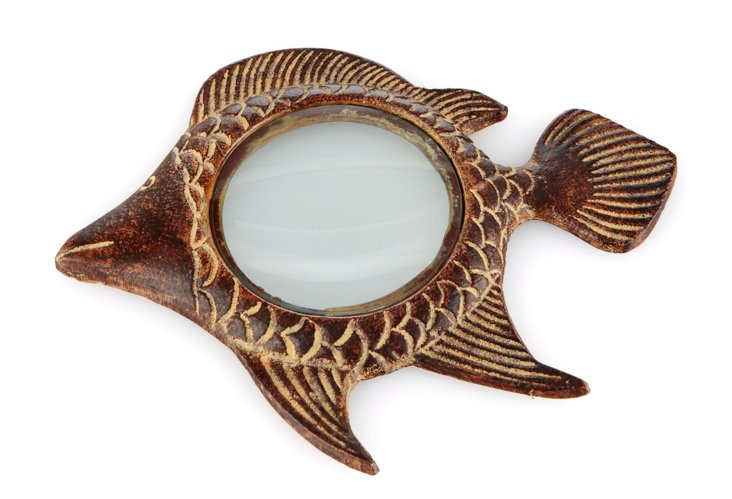 Magnifying Glass, Fish