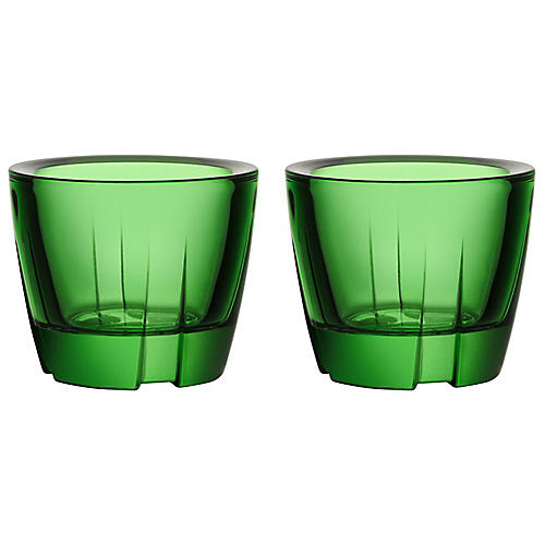 S/2 Bruk Anything Tumblers, Green
