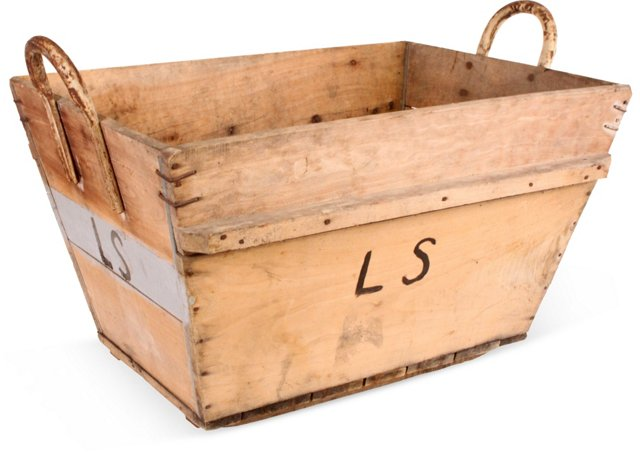 French Champagne-Grape Box II