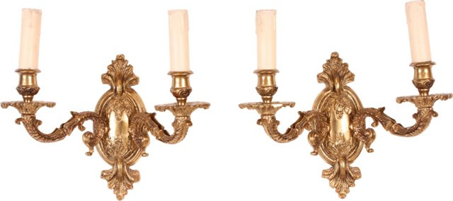French Sconces, Pair II