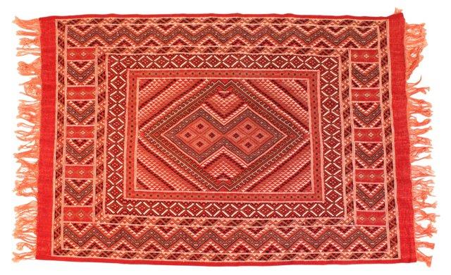 """Turkish Handmade Rug, 7'5"""" x 5'4"""""""