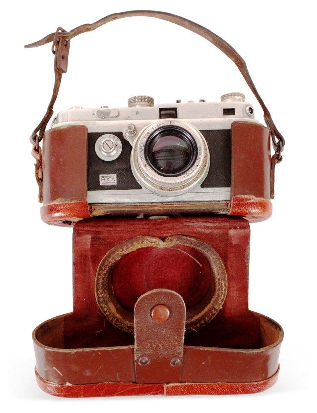 Foca 35mm Camera & Case