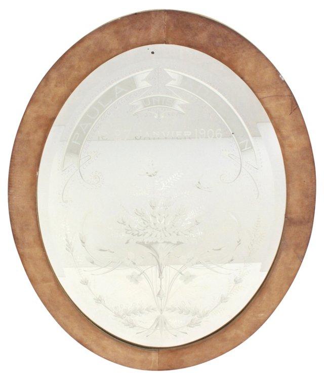 French Wedding Mirror