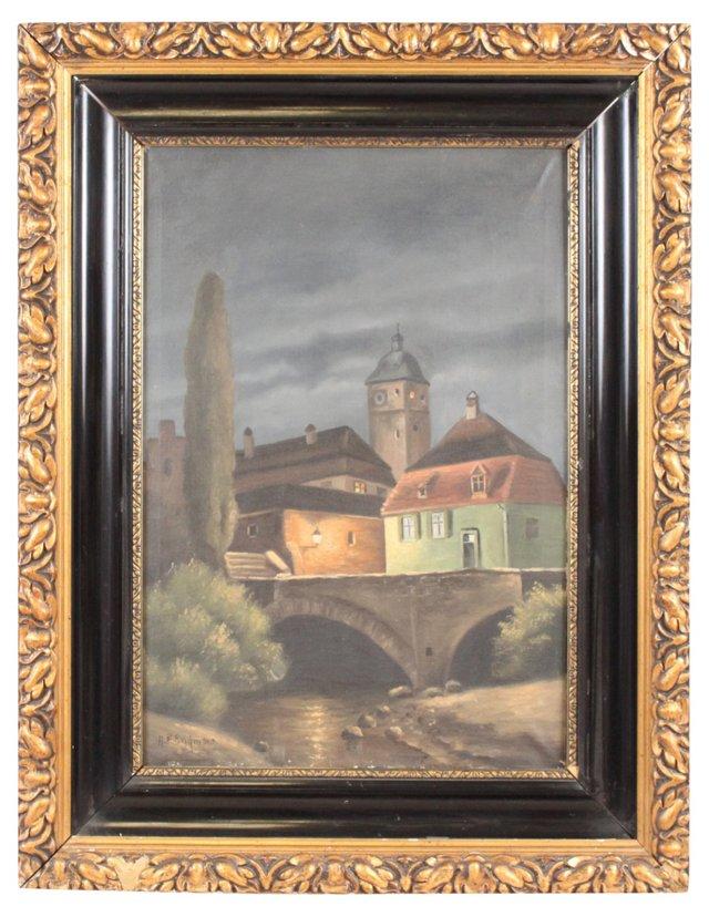 Oil Painting, Aarhus
