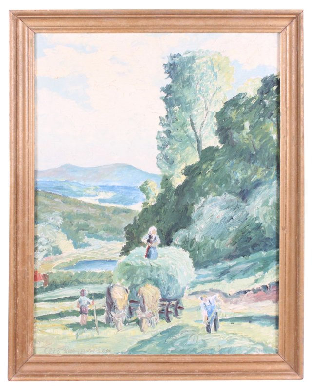 Oil Painting, Harvest