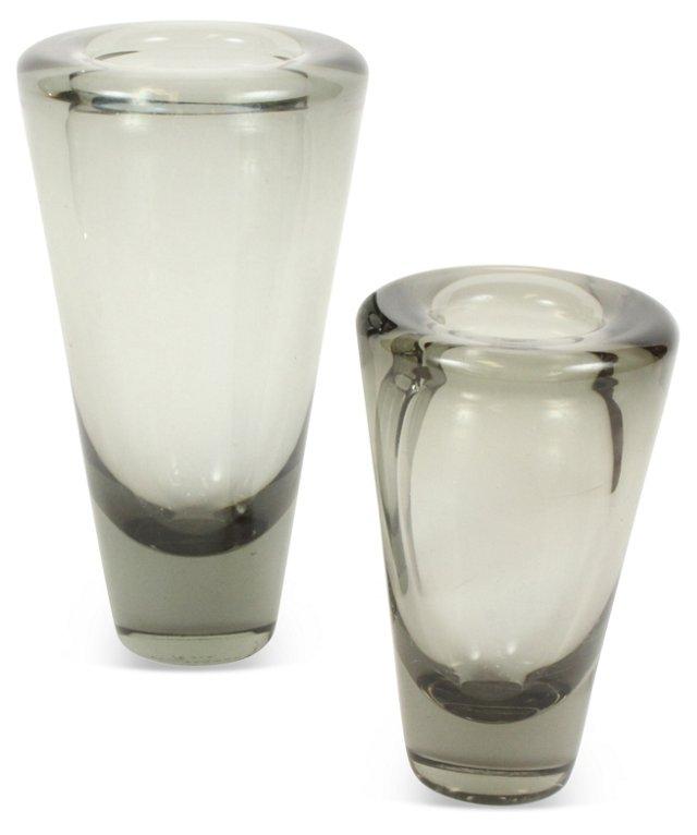 Holmegaard Umanak Vases, Set of 2