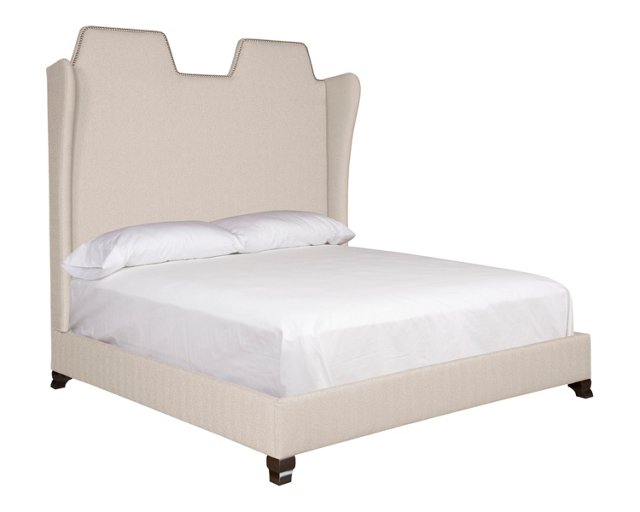 Cream Camille Bed, King
