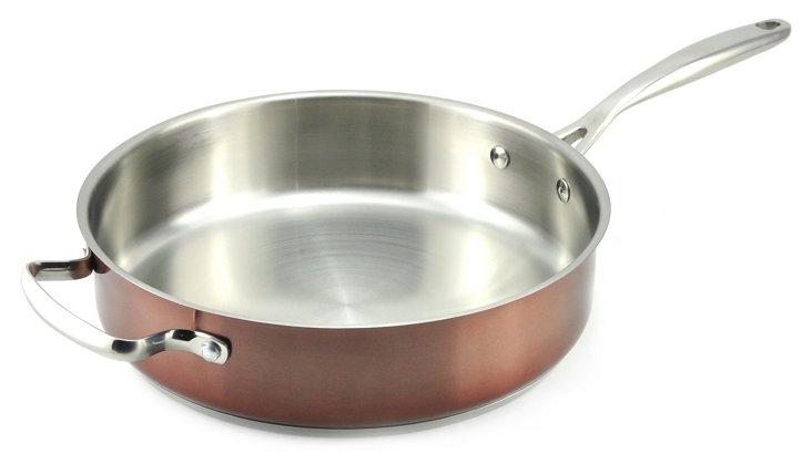 """11"""" Sauté Pan, Copper"""