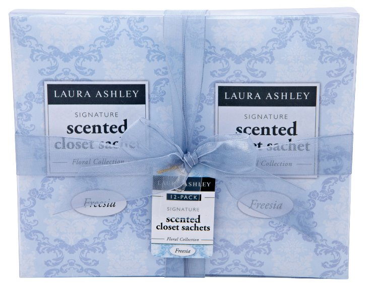 12-Pack Scented Sachets, Freesia