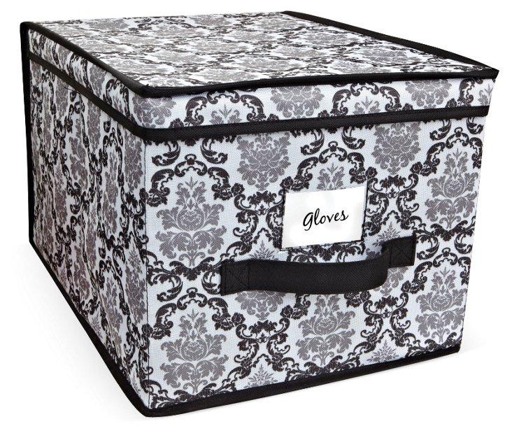 S/2 Delancy Storage Boxes, Large