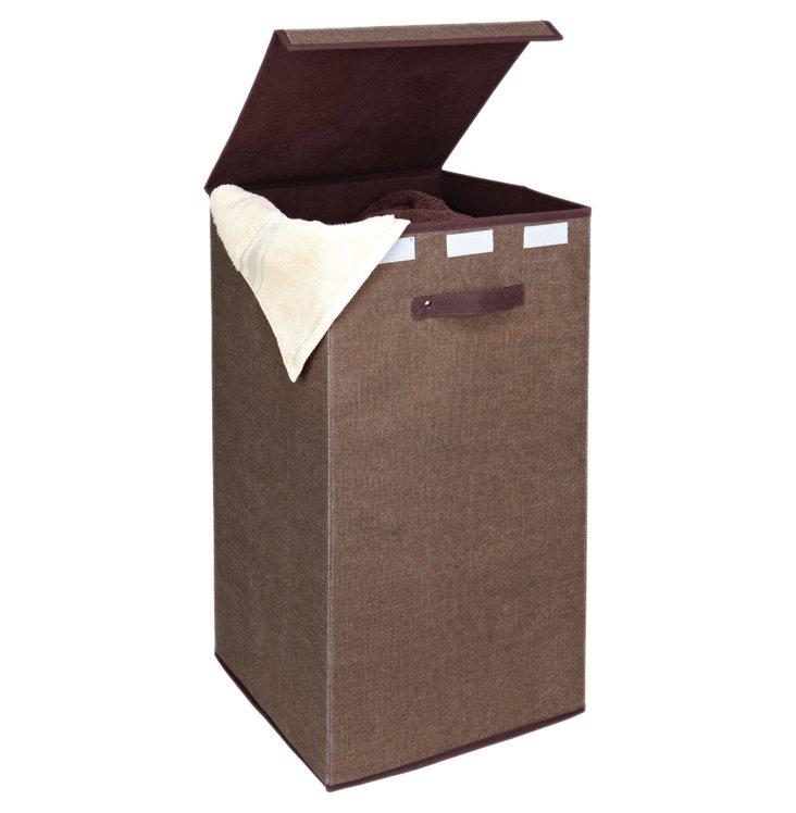 Tall Storage Cube, Espresso