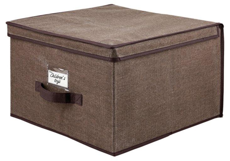 Jumbo Storage Box, Espresso