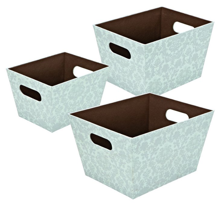 3-Pc Nested Tapered Boxes Set