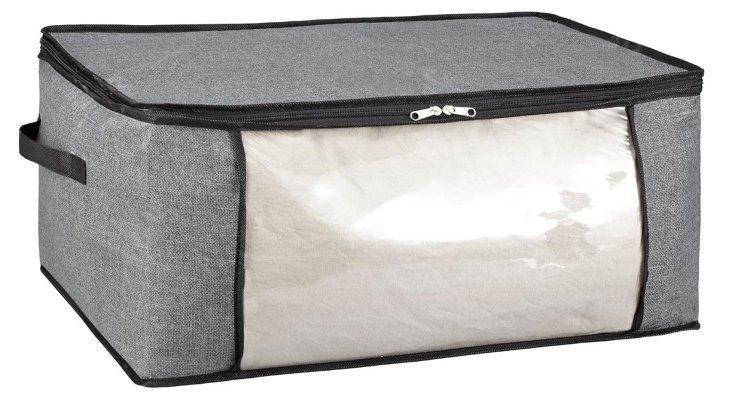 S/2 Jumbo Storage Bags, Gray