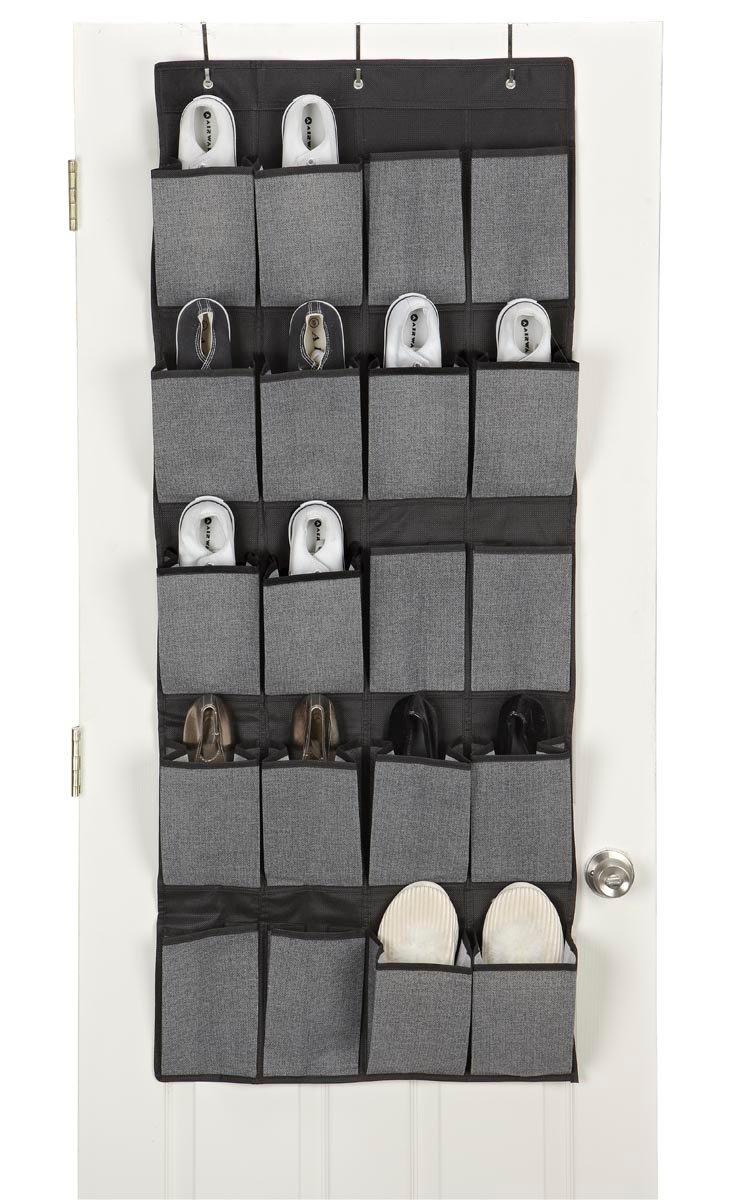20-Pocket Door Organizer, Gray