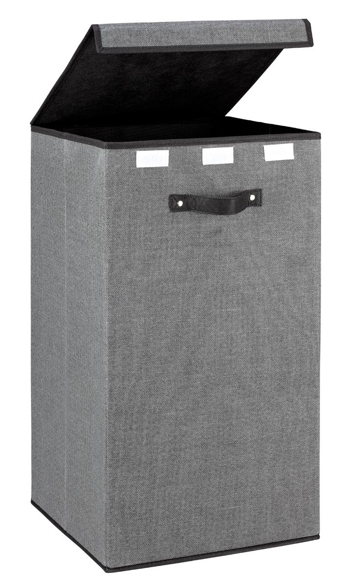 Tall Storage Cube, Gray