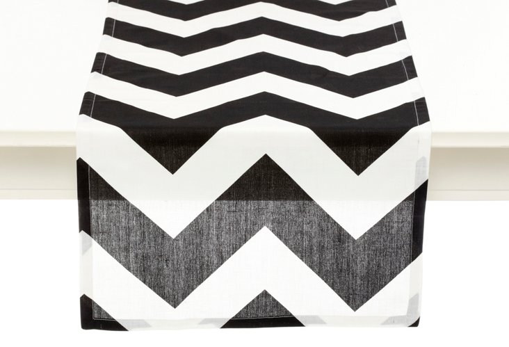 Chevron Runner, Black
