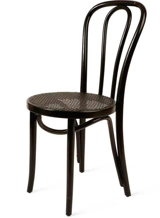 Black Thonet Café Chair