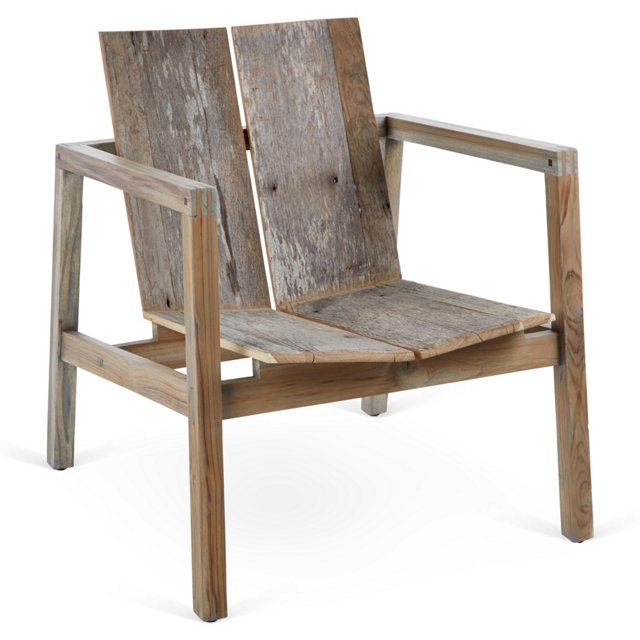 Winston Armchair, Driftwood