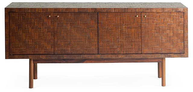 "Tabago 63"" Buffet, Chestnut"