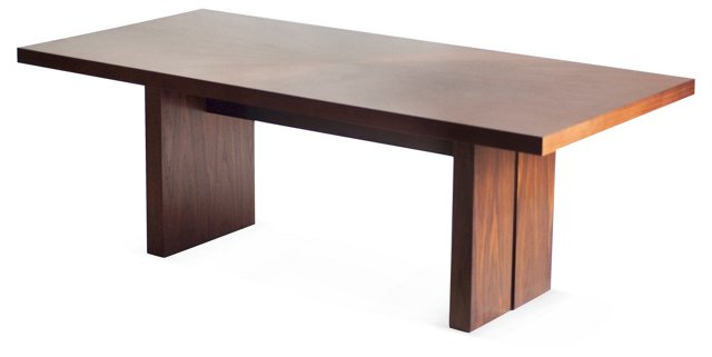 """DNU, Disc Asher 84"""" Dining Table"""