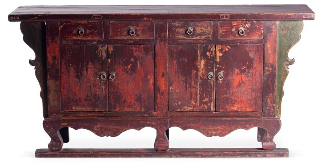Remi Buffet, Distressed Red