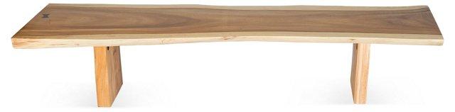 6' Free-Form Edge Bench
