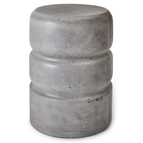 Aiden Stool, Dark Gray Concrete